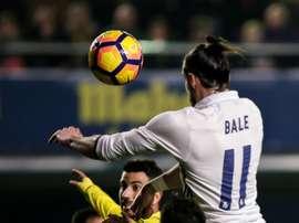 L'attaquant du Real Madrid, Gareth Bale