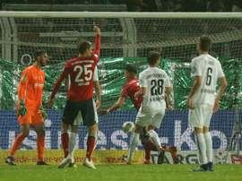 Bayern got the win. AFP