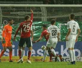 El Bayern acabó pidiendo la hora. AFP