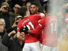Rashford strikes twice as Man Utd end Mourinho's perfect start at Spurs. AFP