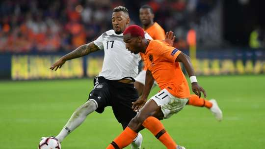 Boateng will miss the game against France due to a calf injury. AFP