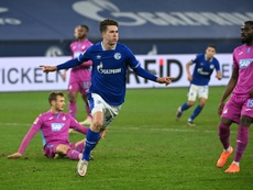 Matthew Hoppe is one of many players from USA in the Bundesliga. AFP