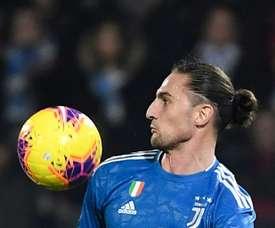 Rabiot (25 anos) soma 24 partidas na Juventus após longa história no PSG. AFP
