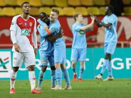Metz continued to add to Monaco's worries. AFP