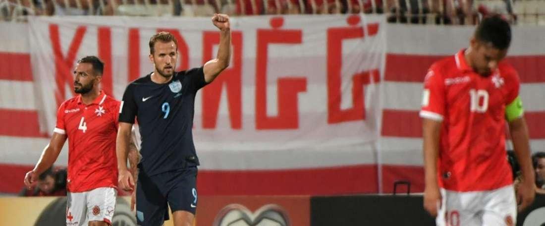Todos os gols foram marcados na segunda parte. AFP