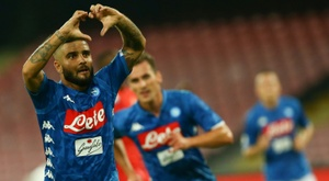 Insigne earned his side victory over Fiorentina. AFP
