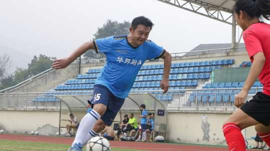 Zhao Chongshan, 63, was a professional footballer during Chinas Cultural Revolution. AFP