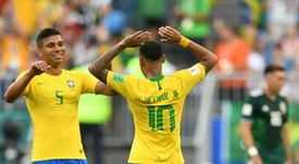 Tite definió a los dos capitanes de Brasil. AFP