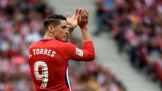 Torres is looking for a new challenge after bringing his time at Atletico to a close. AFP