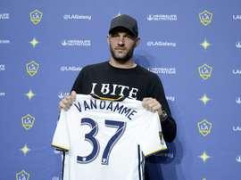 Van Damme abandona a Los Angeles Galaxy. AFP