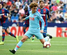 Griezmann made his last Atleti appearance on Saturday. AFP