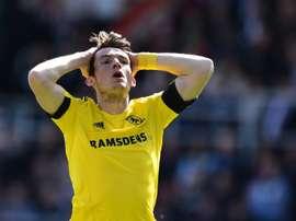 El Middlesbrough se ha despedido por esta temporada de su estadio con una nueva derrota. AFP/Archivo