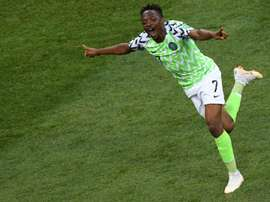 Ahmed Musa was a key part of Nigeria's World Cup squad. AFP
