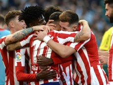 Angel Correa made an important contribution in Atletico's win over Betis. AFP