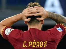 Carles Perez può salutare la Roma. AFP