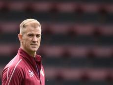 Joe Hart has signed for Tottenham. AFP