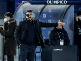 Gattuso évoque ses retrouvailles avec Pirlo. AFP