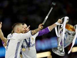 El mensaje de Ramos sobre el futuro de Bale. AFP