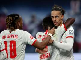 Leipzig keep top spot in Germany after comeback win. AFP