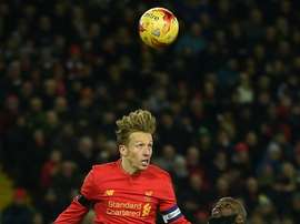 Lucas Leiva has spent the last decade at Anfield. AFP