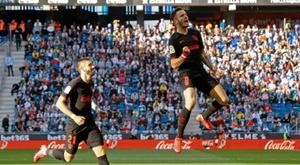 Atlético drew 1-1. AFP
