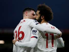 Salah and Keita drive Liverpool towards title. AFP