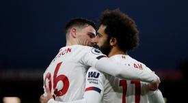 Salah and Keita drive Liverpool towards title. AFP
