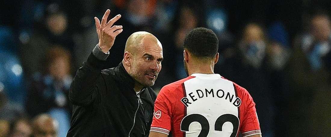 Guardiola épargné par la FA. AFP