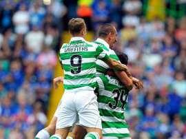 El Celtic puede dar por superado el trauma de la Champions. AFP