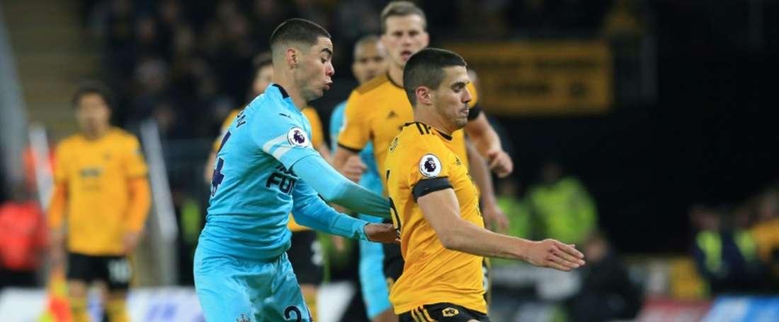 Duex nouvelles menaces pour les Wolves pour Coady. AFP