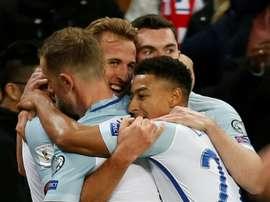 Kane scored the winner against Slovenia on Thursday. AFP