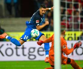 Wagner scored twice to help Hoffenheim to a 3-0 win. AFP