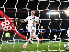 Icardi strike and Navas penalty save take PSG through in Champions League. AFP