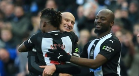 Shelvey anotó el tanto del empate para el Newcastle. AFP/Archivo