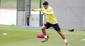 Suárez está de volta. AFP