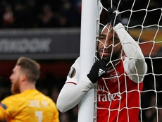 Arsenal lost 2-1. AFP