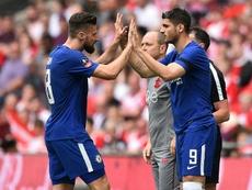 Giroud and Morata battle for Chelsea starting spot