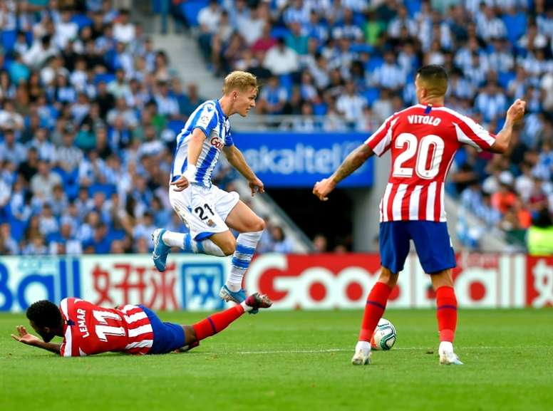 Real Sociedad face test of credentials against in-form Real Madrid. AFP