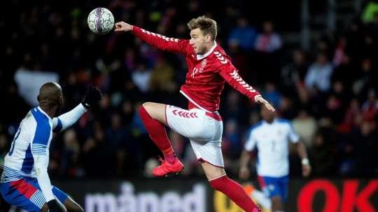 Nicklas Bendtner was allegedly involved in the incident on Sunday morning. AFP