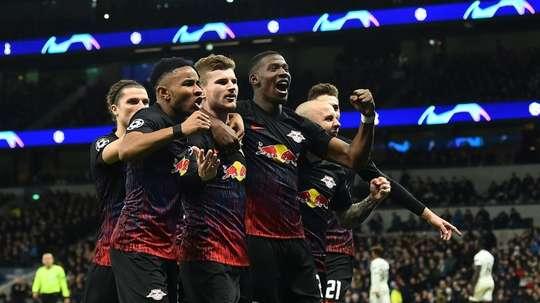 Leipzig won 1-0. AFP