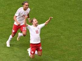 Dinamarca ya ha anunciado que irá al amistoso con el equipo de fútbol sala. AFP