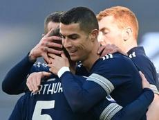 Arthur scored as Juventus got the three points against Bologna. AFP