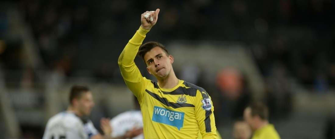 Karl Darlow is believed to be Middlesbrough's number one goalkeeping target. AFP