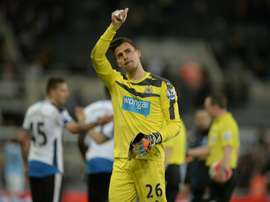 Some clubs are interested Darlow's services. AFP