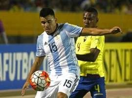 El argentino promete que lo dará todo ante Croacia. AFP