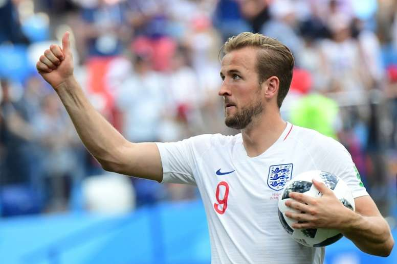 Harry Kane scored a hat-trick as England beat Panama 6-1 at the World Cup. AFP