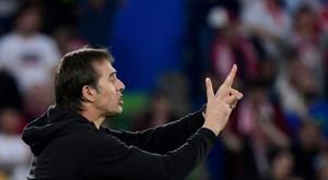 Sevilla won 3-0. AFP