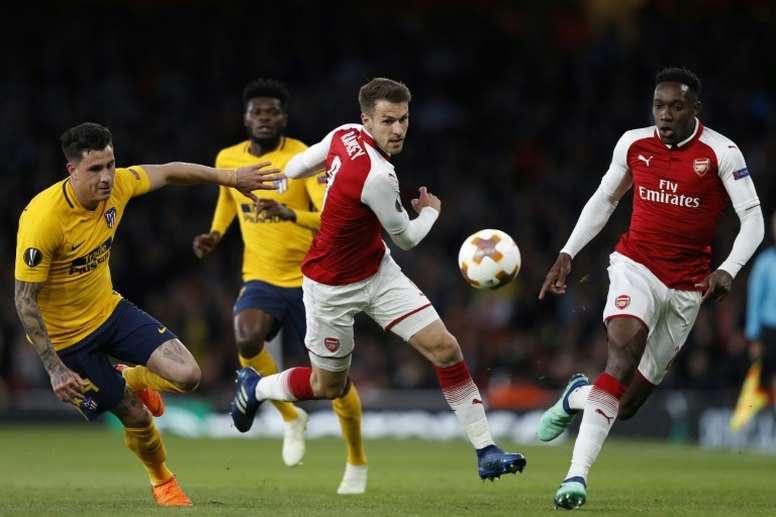 Ramsey aurait une autre possibilité. AFP