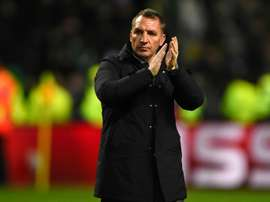 Rodgers is taking no chances ahead of the Rangers fixture. AFP