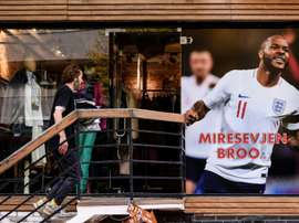 Kosovo will give a very warm reception to England's players in Pristina. AFP